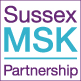 The condensed version of the Sussex MSK Partnership logo