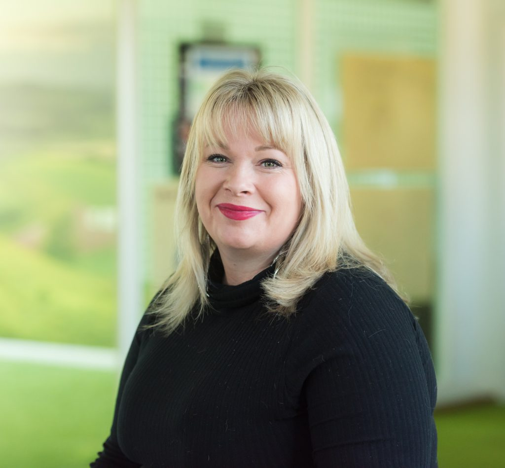 A photograph of Natalie Blunt, Managing Director